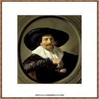 荷兰17世纪著名肖像画家德克哈尔斯Dirck Hals油画人物作品高清图片 (5)