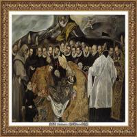西班牙著名宗教画肖像画画家埃尔格列柯El Greco绘画作品高清图片 (87)