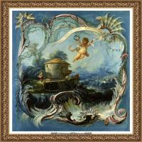 法国洛可可风格画派画家弗朗索瓦布歇Francois Boucher油画作品高清图片肖像画古典宫廷油画高清图片 (222)