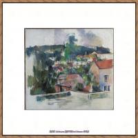 法国著名画家保罗塞尚Paul Cézanne印象派油画作品高清图片塞尚静物画塞尚风景画图片 (124)
