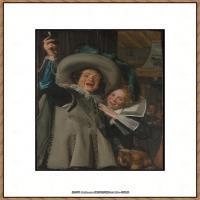 荷兰17世纪著名肖像画家德克哈尔斯Dirck Hals油画人物作品高清图片 (10)