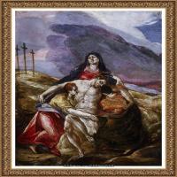 西班牙著名宗教画肖像画画家埃尔格列柯El Greco绘画作品高清图片 (70)