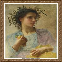 法国学院派画家威廉阿道夫布格罗Bouguereau Adolphe William油画人物高清图片 (86)