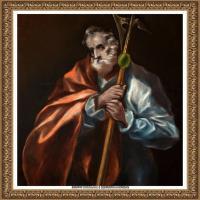 西班牙著名宗教画肖像画画家埃尔格列柯El Greco绘画作品高清图片 (124)