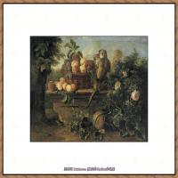法国著名静物画家夏尔丹Jean Baptiste Siméon静物画巨匠夏尔丹油画作品高清图片 (42)