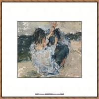 俄裔美籍画家尼古拉费申Nicolai Ivanovich Fechin油画作品高清图片 (7)
