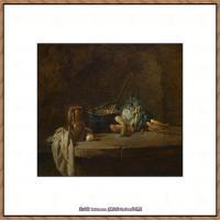 法国著名静物画家夏尔丹Jean Baptiste Siméon静物画巨匠夏尔丹油画作品高清图片 (72)