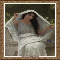 法国学院派画家威廉阿道夫布格罗Bouguereau Adolphe William油画人物高清图片 (81)