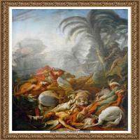 法国洛可可风格画派画家弗朗索瓦布歇Francois Boucher油画作品高清图片肖像画古典宫廷油画高清图片 (15)