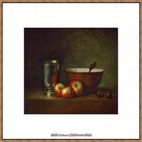 法国著名静物画家夏尔丹Jean Baptiste Siméon静物画巨匠夏尔丹油画作品高清图片 (71)