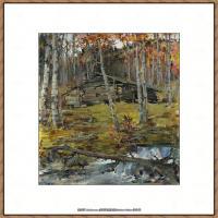 俄裔美籍画家尼古拉费申Nicolai Ivanovich Fechin油画作品高清图片 (14)