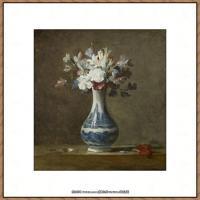 法国著名静物画家夏尔丹Jean Baptiste Siméon静物画巨匠夏尔丹油画作品高清图片 (24)