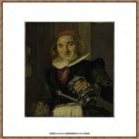 荷兰17世纪著名肖像画家德克哈尔斯Dirck Hals油画人物作品高清图片 (11)