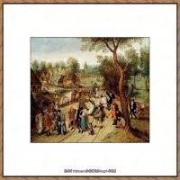 彼得勃鲁盖尔Bruegel Pieter荷兰画家油画作品高清图片 (71)