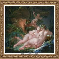 法国洛可可风格画派画家弗朗索瓦布歇Francois Boucher油画作品高清图片肖像画古典宫廷油画高清图片 (245)