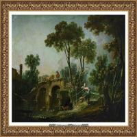 法国洛可可风格画派画家弗朗索瓦布歇Francois Boucher油画作品高清图片肖像画古典宫廷油画高清图片 (259)