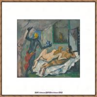 法国著名画家保罗塞尚Paul Cézanne印象派油画作品高清图片塞尚静物画塞尚风景画图片 (122)