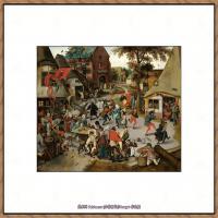 彼得勃鲁盖尔Bruegel Pieter荷兰画家油画作品高清图片 (67)