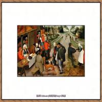 彼得勃鲁盖尔Bruegel Pieter荷兰画家油画作品高清图片 (51)