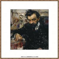 俄裔美籍画家尼古拉费申Nicolai Ivanovich Fechin油画作品高清图片 (17)