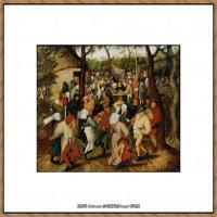 彼得勃鲁盖尔Bruegel Pieter荷兰画家油画作品高清图片 (46)