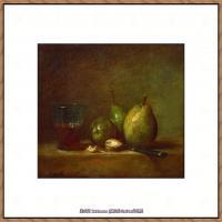 法国著名静物画家夏尔丹Jean Baptiste Siméon静物画巨匠夏尔丹油画作品高清图片 (64)