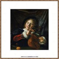 荷兰17世纪著名肖像画家德克哈尔斯Dirck Hals油画人物作品高清图片 (19)