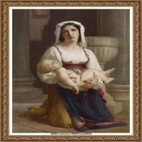 法国学院派画家威廉阿道夫布格罗Bouguereau Adolphe William油画人物高清图片 (66)
