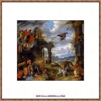 彼得勃鲁盖尔Bruegel Pieter荷兰画家油画作品高清图片 (73)