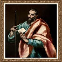 西班牙著名宗教画肖像画画家埃尔格列柯El Greco绘画作品高清图片 (127)