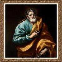 西班牙著名宗教画肖像画画家埃尔格列柯El Greco绘画作品高清图片 (132)