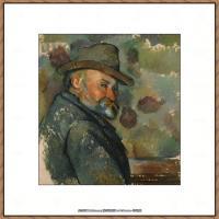 法国著名画家保罗塞尚Paul Cézanne印象派油画作品高清图片塞尚静物画塞尚风景画图片 (139)