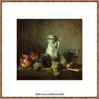 法国著名静物画家夏尔丹Jean Baptiste Siméon静物画巨匠夏尔丹油画作品高清图片 (21)
