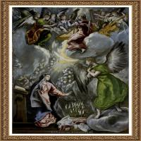 西班牙著名宗教画肖像画画家埃尔格列柯El Greco绘画作品高清图片 (75)