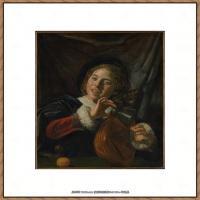 荷兰17世纪著名肖像画家德克哈尔斯Dirck Hals油画人物作品高清图片 (23)