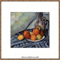 法国著名画家保罗塞尚Paul Cézanne印象派油画作品高清图片塞尚静物画塞尚风景画图片 (118)