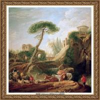 法国洛可可风格画派画家弗朗索瓦布歇Francois Boucher油画作品高清图片肖像画古典宫廷油画高清图片 (21)