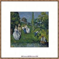 法国著名画家保罗塞尚Paul Cézanne印象派油画作品高清图片塞尚静物画塞尚风景画图片 (150)