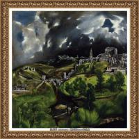 西班牙著名宗教画肖像画画家埃尔格列柯El Greco绘画作品高清图片 (74)
