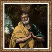 西班牙著名宗教画肖像画画家埃尔格列柯El Greco绘画作品高清图片 (133)