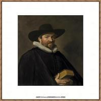 荷兰17世纪著名肖像画家德克哈尔斯Dirck Hals油画人物作品高清图片 (33)