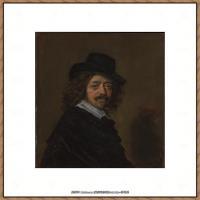 荷兰17世纪著名肖像画家德克哈尔斯Dirck Hals油画人物作品高清图片 (22)