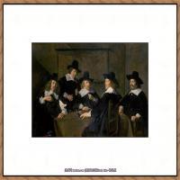 荷兰17世纪著名肖像画家德克哈尔斯Dirck Hals油画人物作品高清图片 (38)