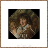 荷兰17世纪著名肖像画家德克哈尔斯Dirck Hals油画人物作品高清图片 (30)
