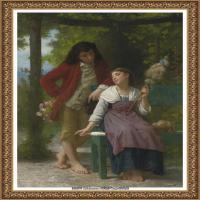 法国学院派画家威廉阿道夫布格罗Bouguereau Adolphe William油画人物高清图片 (78)