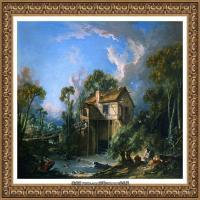 法国洛可可风格画派画家弗朗索瓦布歇Francois Boucher油画作品高清图片肖像画古典宫廷油画高清图片 (251)