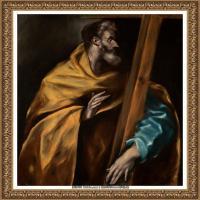 西班牙著名宗教画肖像画画家埃尔格列柯El Greco绘画作品高清图片 (129)