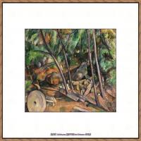 法国著名画家保罗塞尚Paul Cézanne印象派油画作品高清图片塞尚静物画塞尚风景画图片 (113)