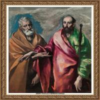 西班牙著名宗教画肖像画画家埃尔格列柯El Greco绘画作品高清图片 (140)