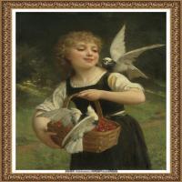 法国学院派画家威廉阿道夫布格罗Bouguereau Adolphe William油画人物高清图片 (89)